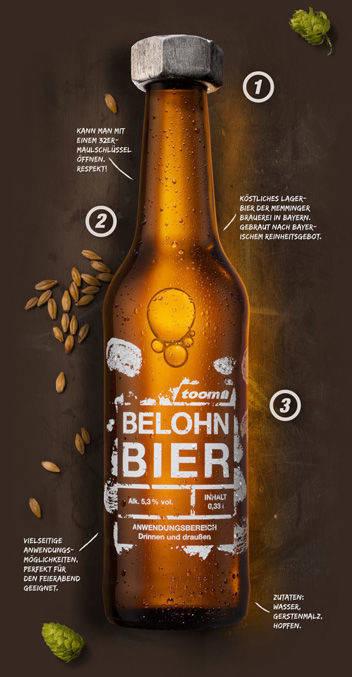 b4cd2c8575cd9 Toom belohnt Selbermacher mit einem Bier   W&V