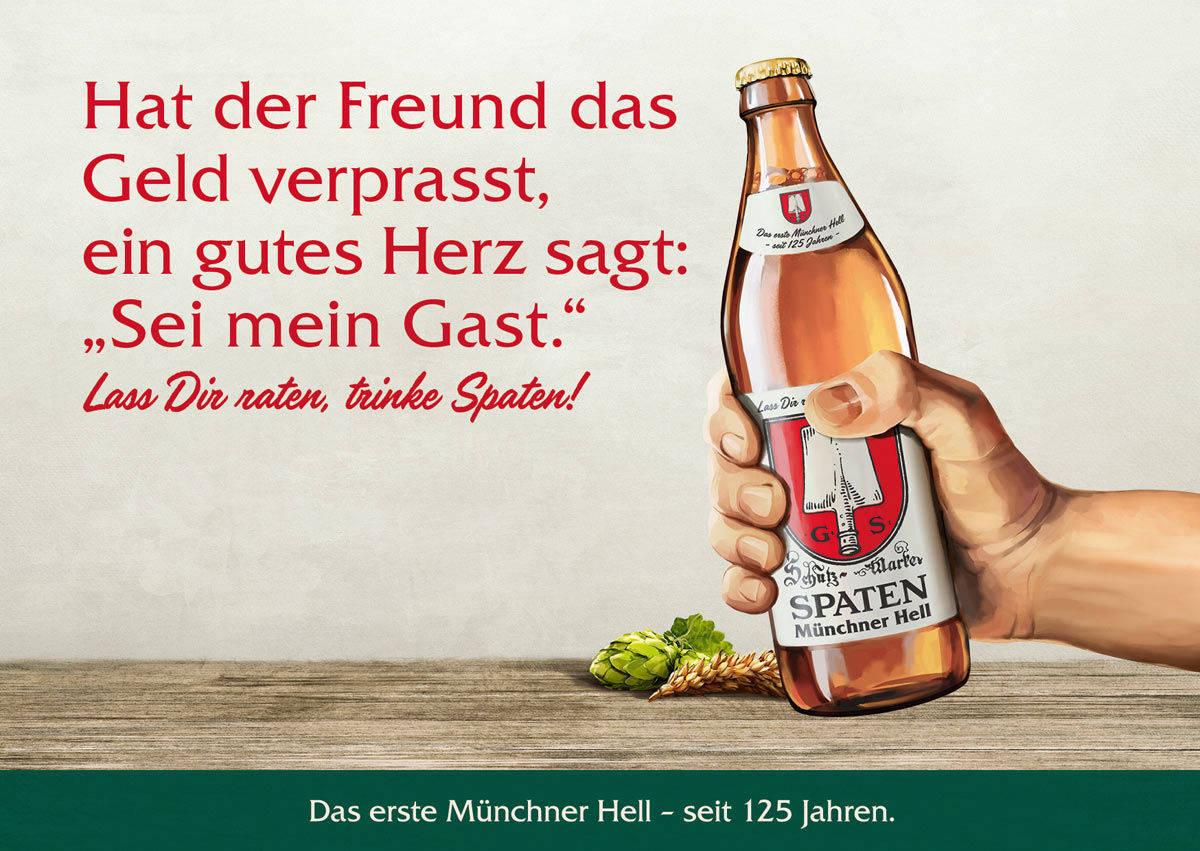 f9a9ac044606f Münchner Bier von Spaten feiert deutschlandweit   W&V