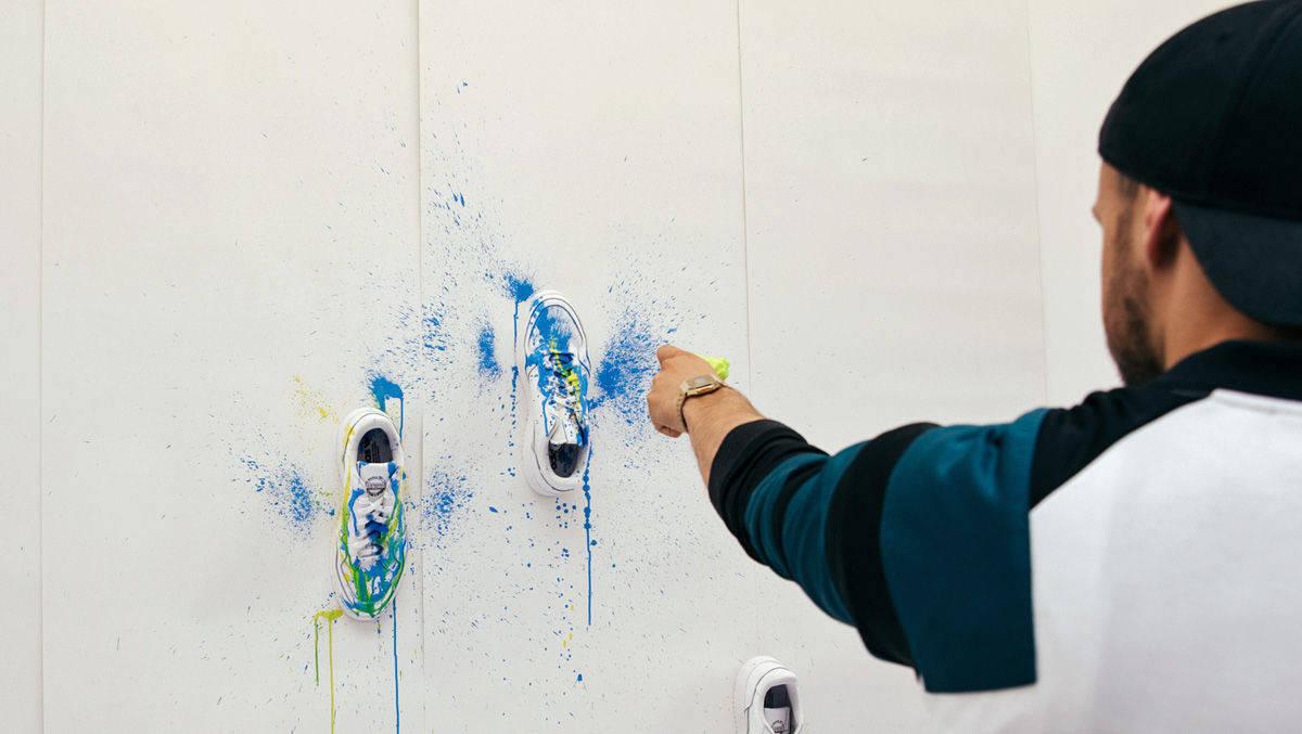 VernissageW Adidas Sneaker V lädt zur DIY kXOiuPTZ