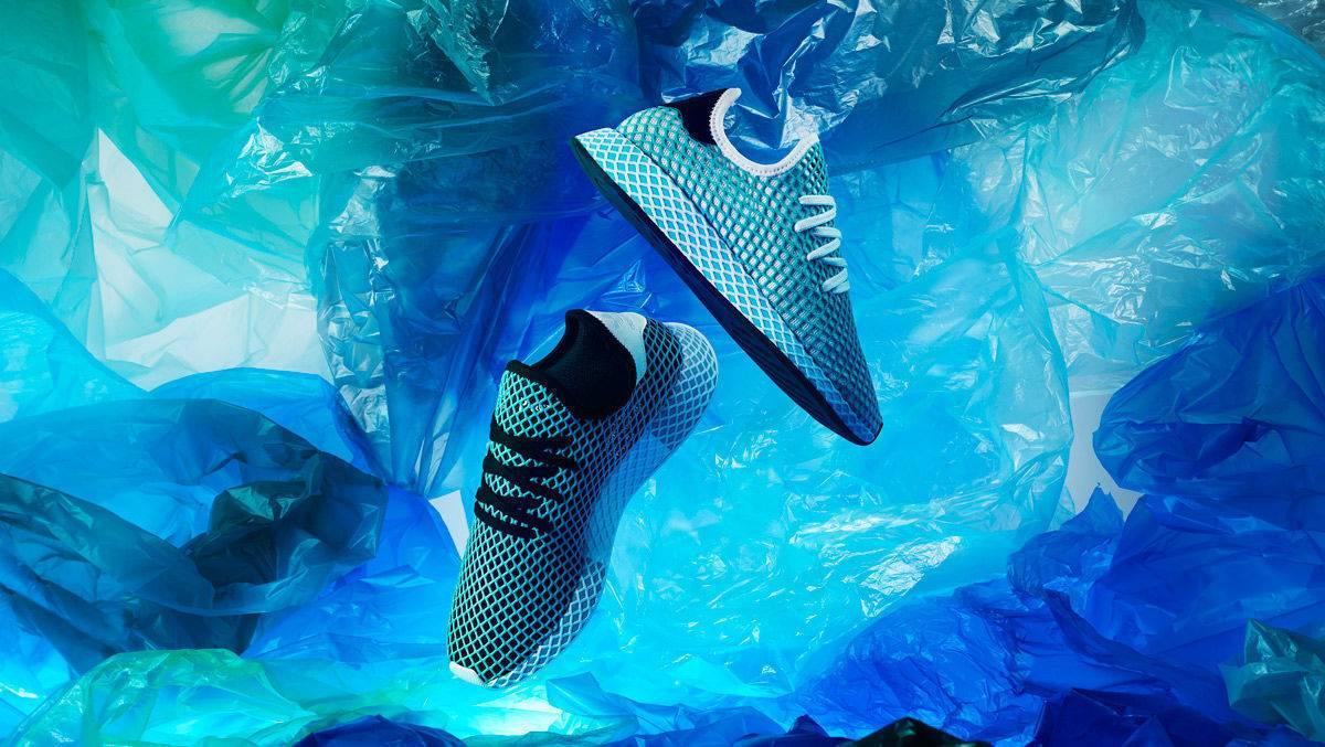 Adidas: Das ist der Recyclingplastik Schuh Deerupt Parley | W&V