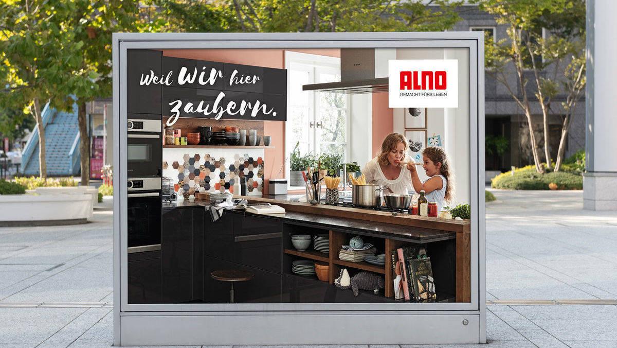 Der Küchenhersteller Alno meldet sich mit neuer Kampagne ...