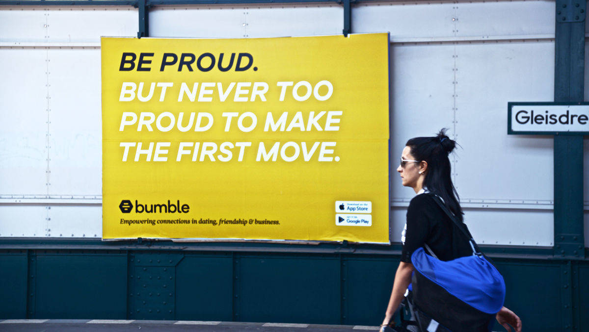 bumble dating app karriere