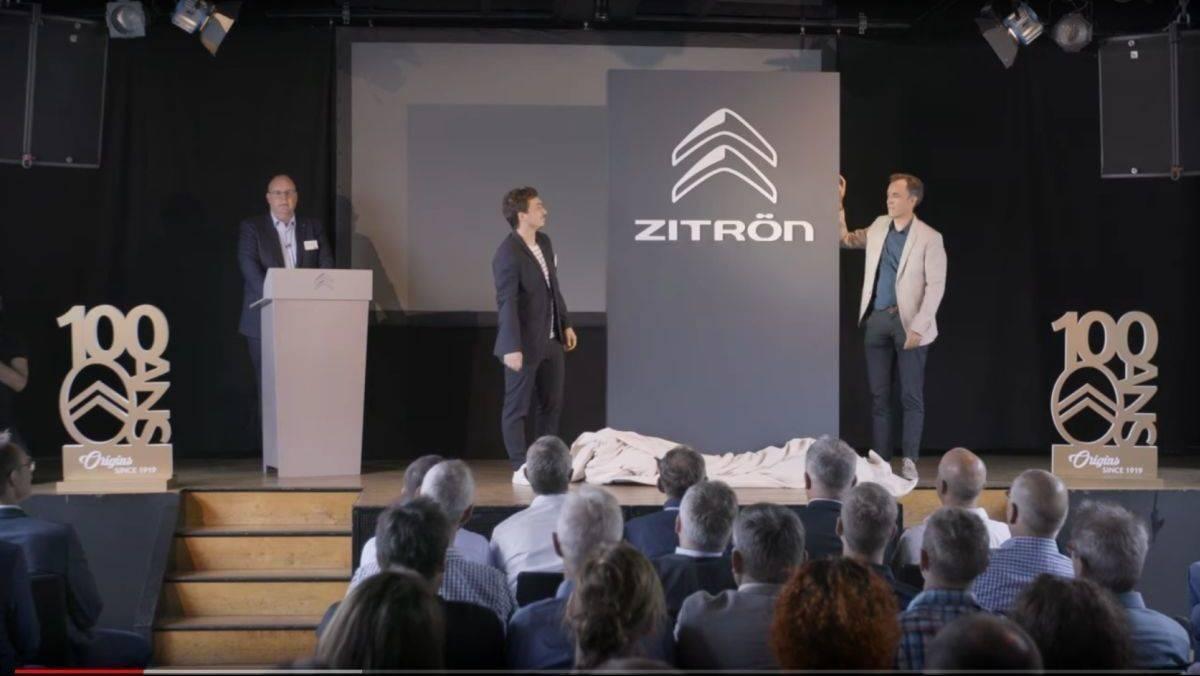 buy popular c90b8 93c5f PR-Gag: Der französische Autobauer Citroën heißt nun Zitrön ...