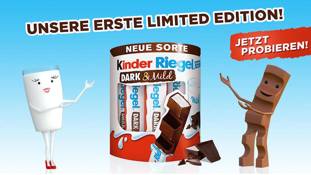 kinderschokolade dark wo kaufen