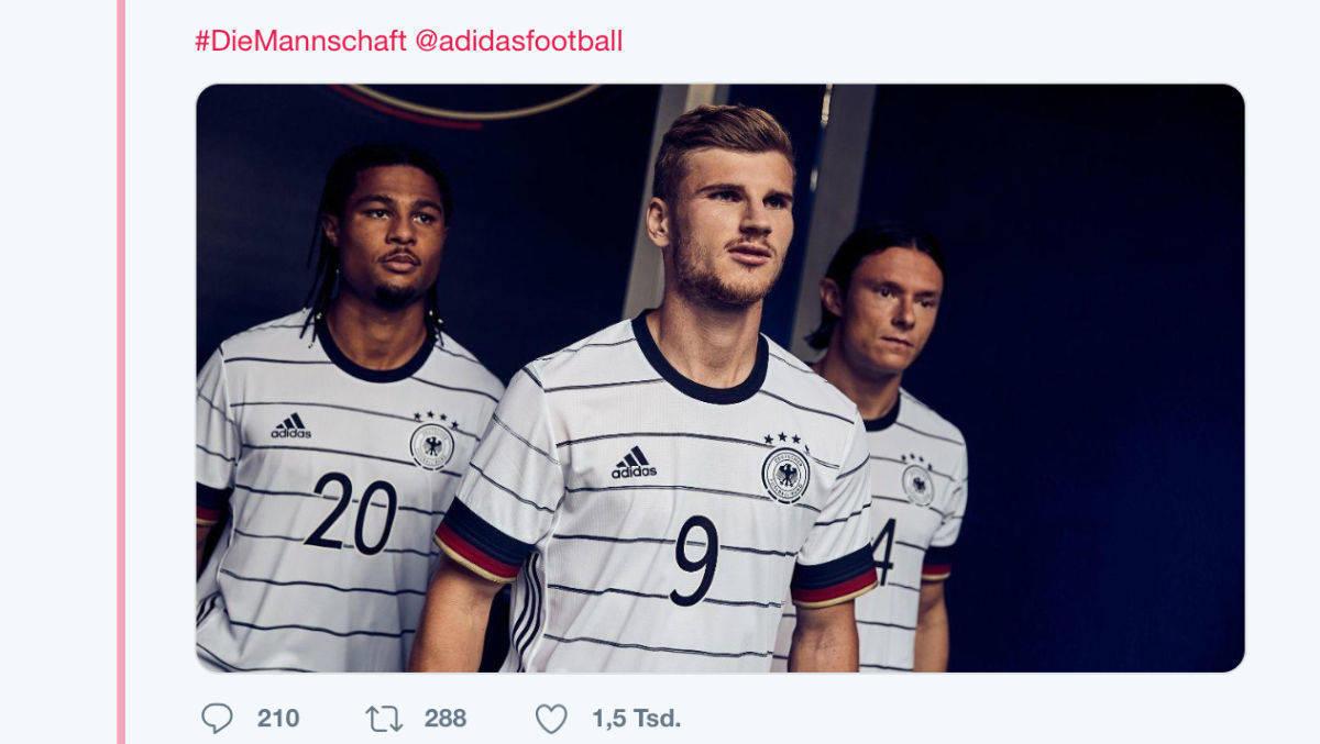 Neue Trikots Adidas Schreibt Namen Von Dfb Spielern Falsch