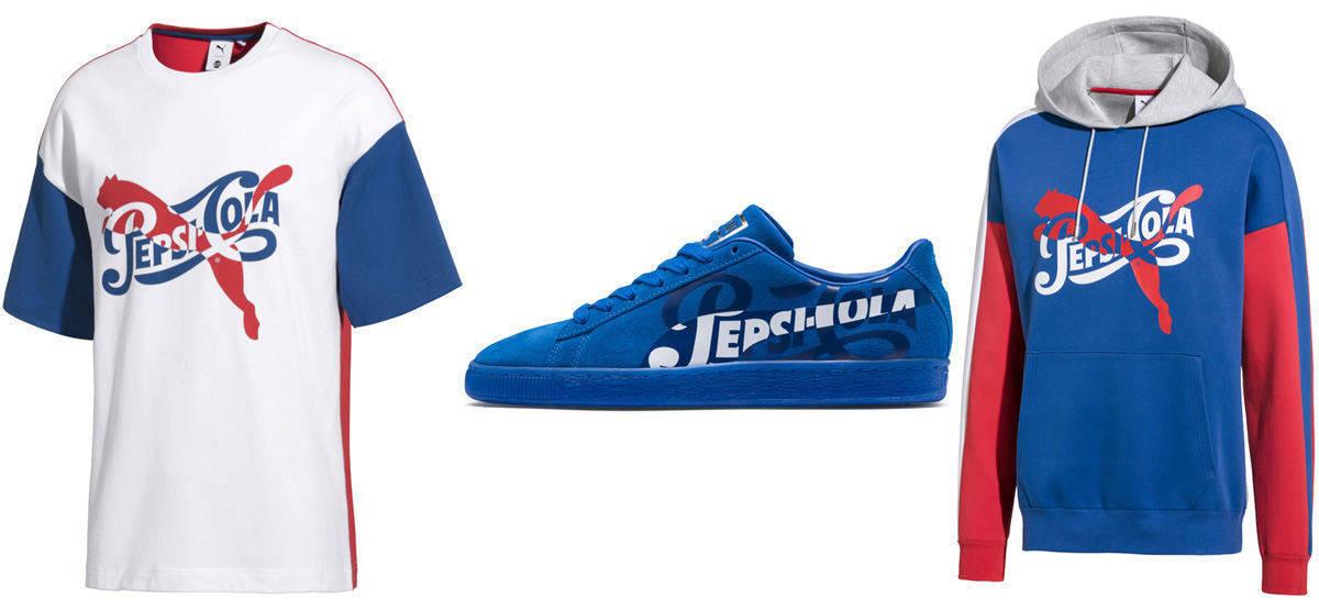 sale retailer 101ac 0fc0c Puma feiert 50 Jahre Suede gemeinsam mit Pepsi | W&V