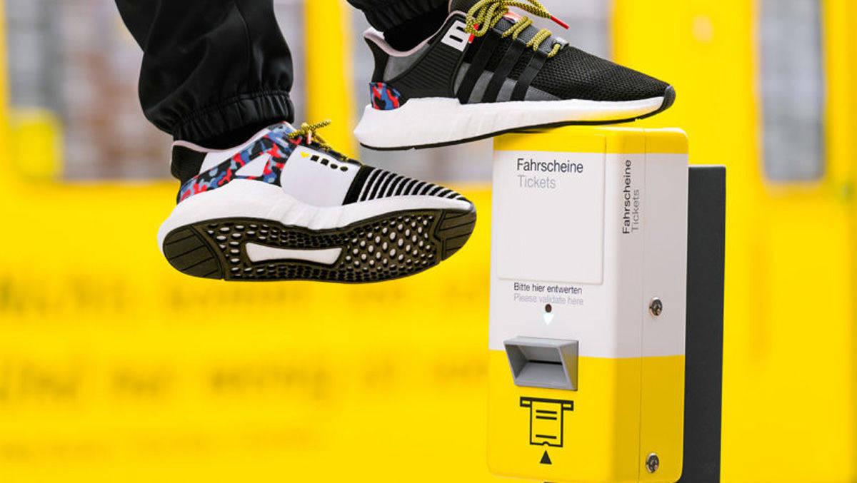 Schuh-Ticket: Der Sneaker-Coup der BVG | W&V