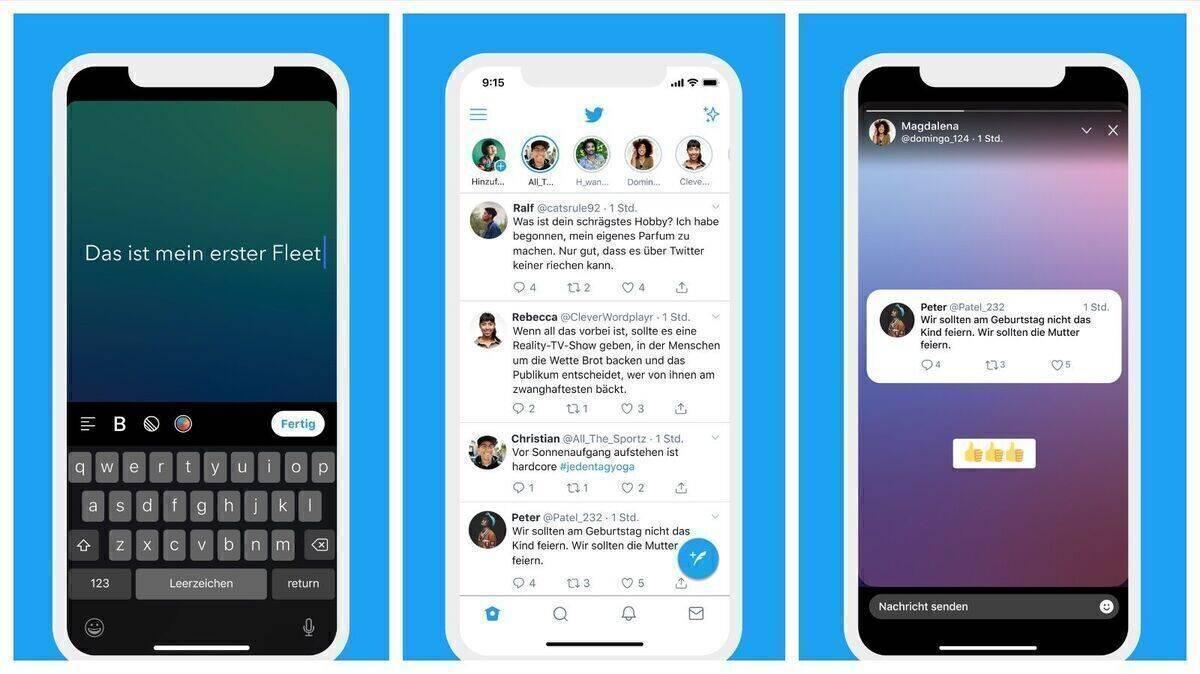 Twitter rollt Fleets jetzt weltweit aus   W&V
